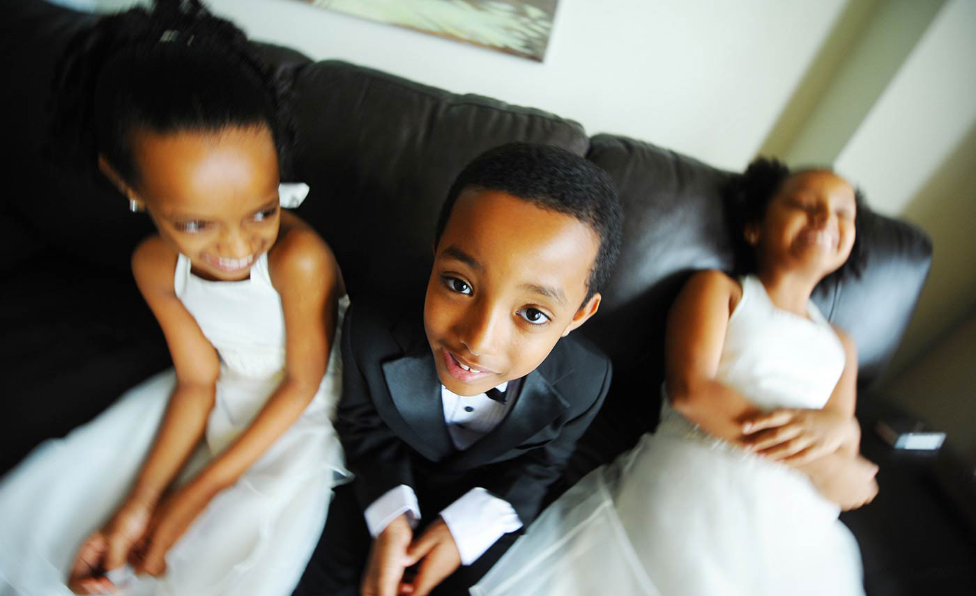 Artistic Wedding Photography, pre-ceremony, Kid pictures